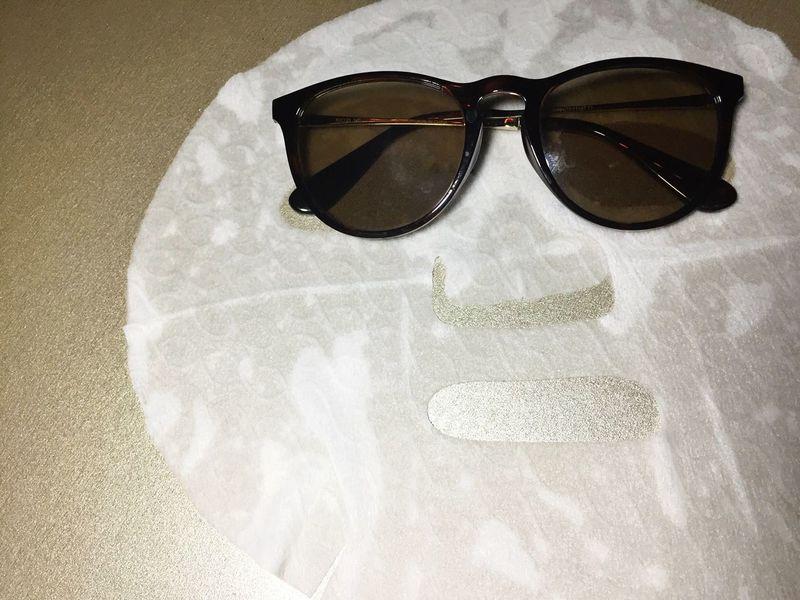 Face mask Facialmask Skincare Sheet Mask Face Mask Funny Eyewear Eyesight Reflection No People