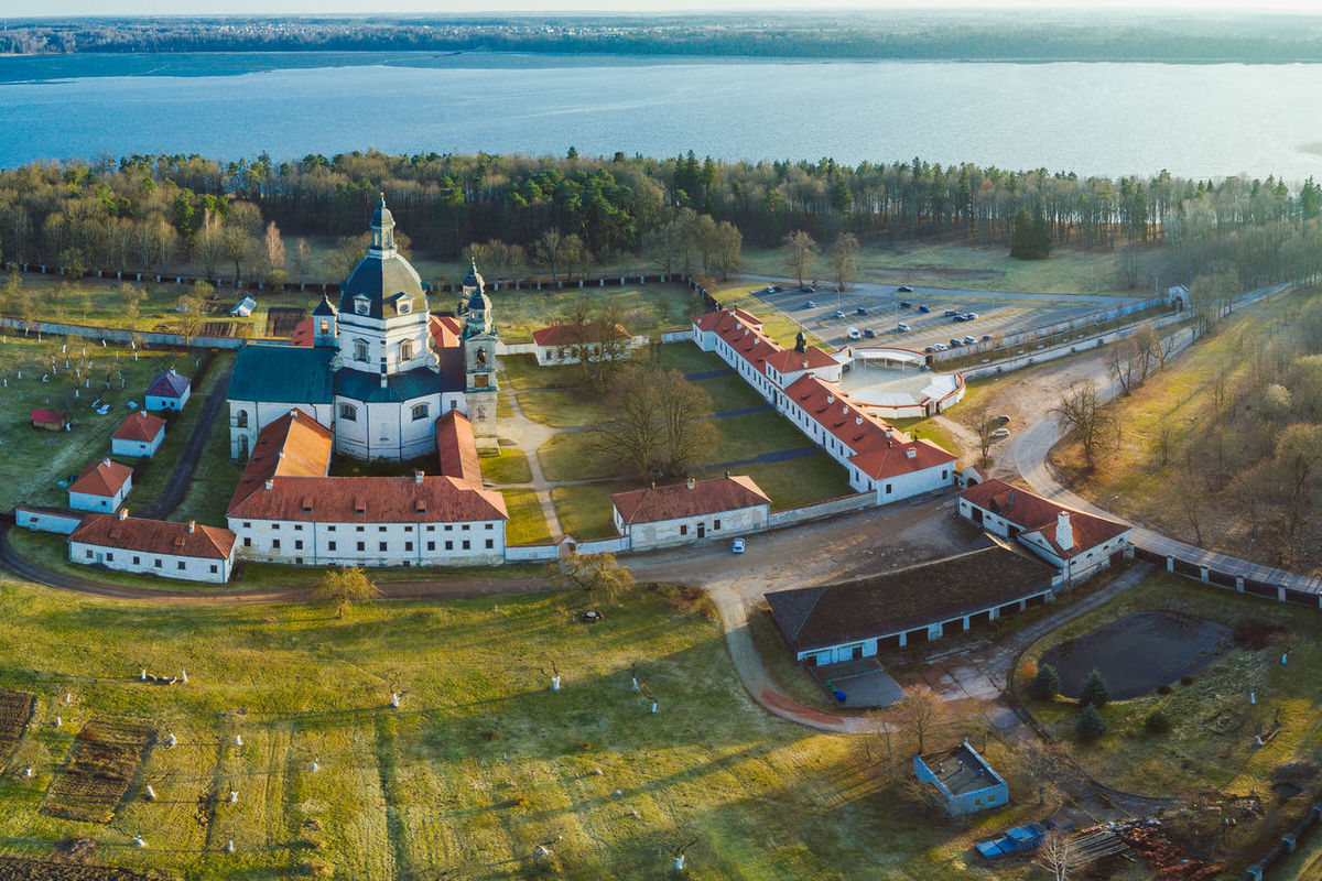 Pazaislis Monastery Aerial View Architecture Architecture Church City Day High Angle View Monestary No People Outdoors Pazaislis Monastery Reservoir Sunset Tree Water Famous Place Mavic DJI Mavic Pro Mavic Pro Lietuva Panoramic View Drone  Dronephotography Droneshot
