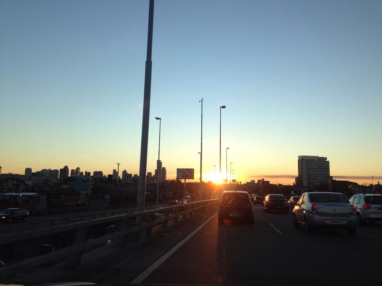 Sunset On The Road With BlaBlaCar 16.6.14