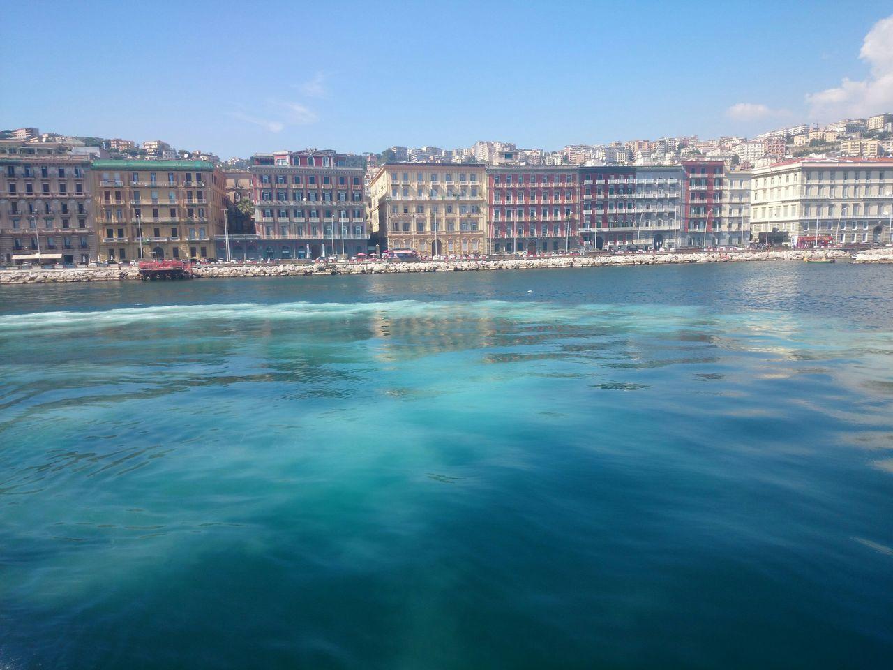 THE HARBOR OF NAPLES Napoli Naples Blue Sea Sea_collection City Harbour View Harborside Inner Harbor
