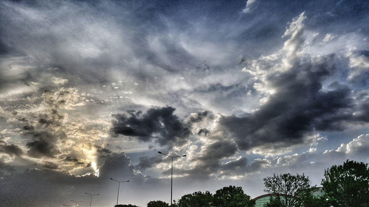 Clouds Sky Cumulus Cloud Rain Clouds Dramatic Sky