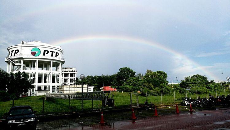Rainbow Multi Colored Beauty In Nature Cloud - Sky Sky Rainbow
