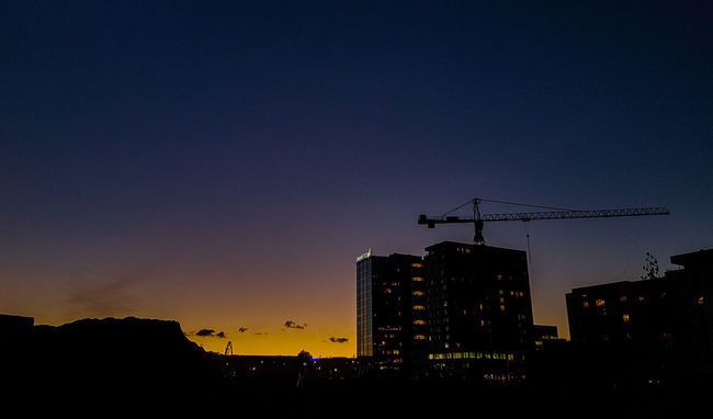 Sunset Building Sil