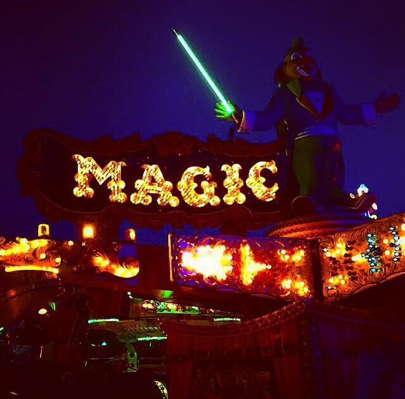 Kirmes Rummel Magdeburg Magic Schausteller Jahrmarkt Funfair Fairground HermannsMagic