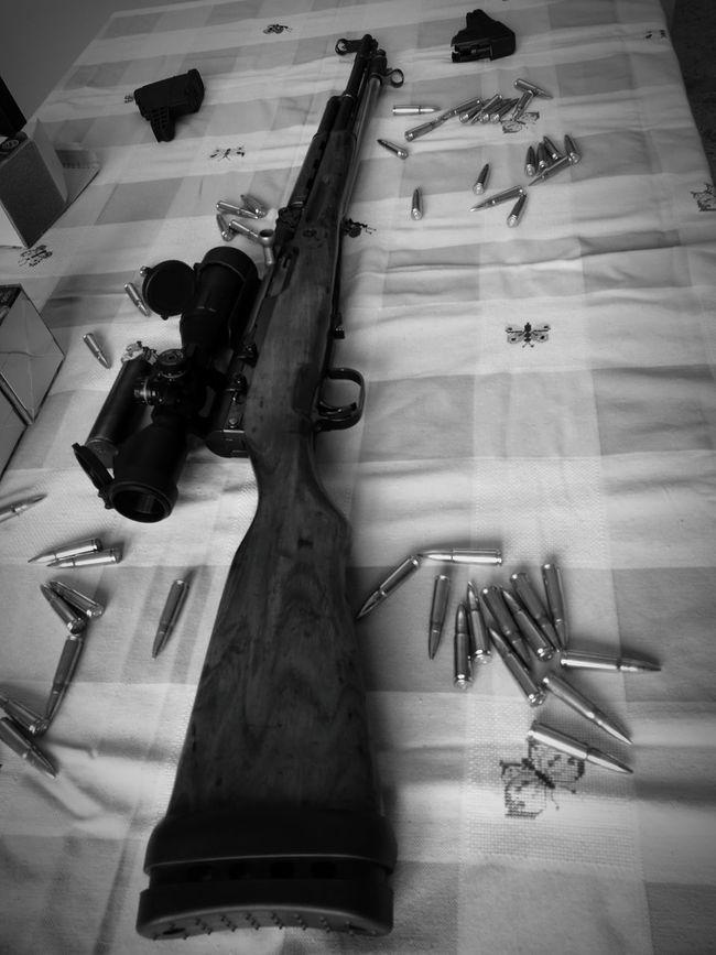 Art Collection Hobbies Indoors  Gun Lifestyles Langbart Ex Ordinanza Rifle Sks History Memories Technology
