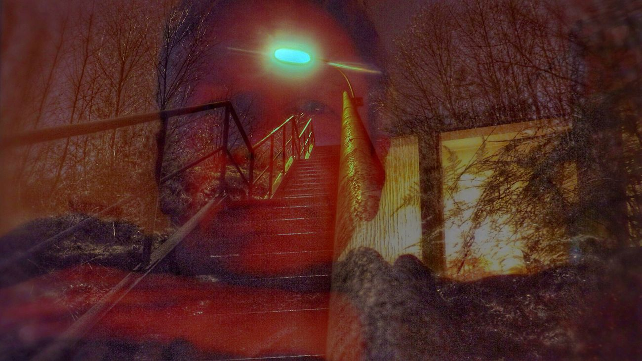 Goodnight EyeEm Double Exposure Relaxing Time Self Portrait Eye Em Nature Lover Me:) Selfie ✌ EyeEm Best Edits Stairs Stairways Lantern Streetlight Darkness And Light Check This Out People Of EyeEm ThatsMe