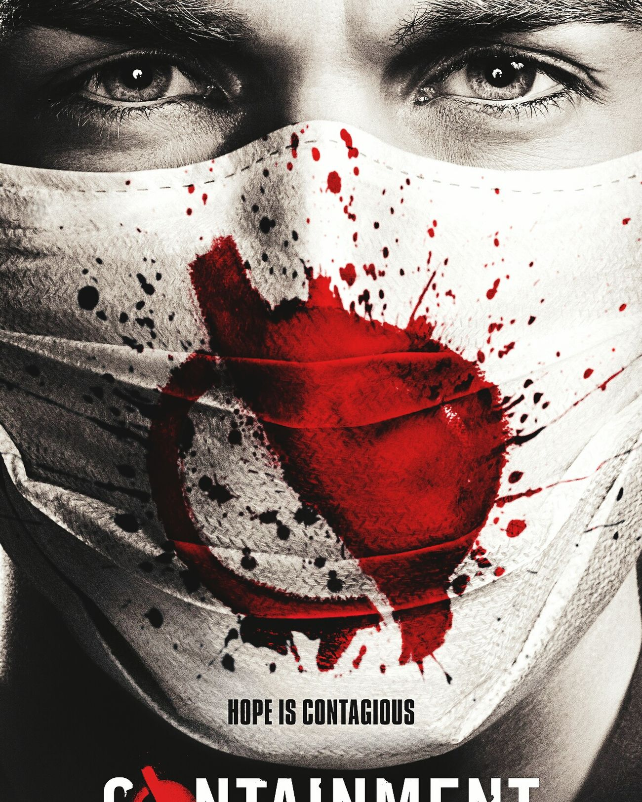 Conteinment, The Cw is an awesome sitcom. I 'm totally addicted. Horror Adults Only Adult Looking At Camera Spooky Only Women One Woman Only Red Young Adult One Young Woman Only One Person Paint Drop Halloween Portrait People Human Body Part Human Eye Human Face Shock