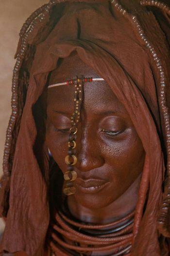 Himba in the north of Namibia Africa Himba Namibia People