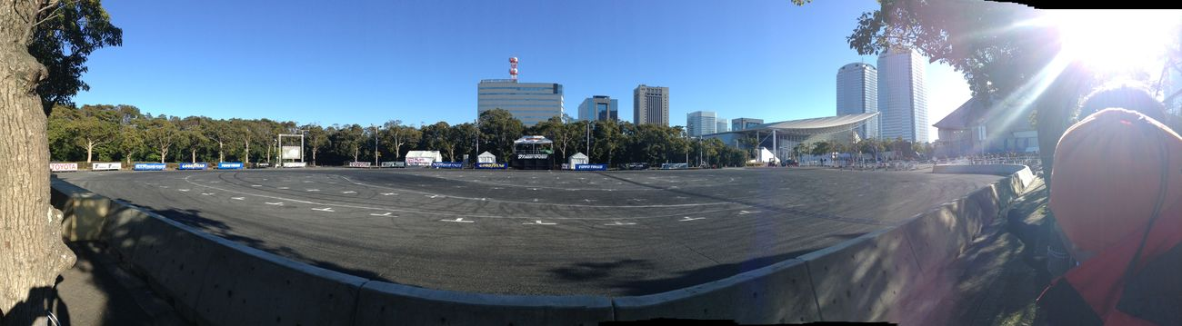 Tokyo Auto Salon 2015 Panorama Landscape Event Enjoying Life Blue Sky Enjoy Life 東京オートサロン 東京オートサロン2015