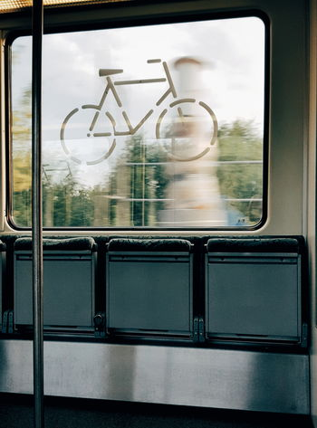 City Sports Escaping Bicycle Bicycle Trip Urban Life Urban Escape Urban Lifestyle My Fuckin Berlin S-Bahn Fahren Boarding Commuting S-Bahn Berlin Public Transportation Bikeride Empty Train Traveling Colour Of Life Movement Velocity Speed Art Is Everywhere