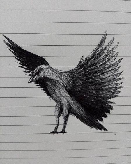 Perch and pray Art Arts Drawing Pen Pendrawing Bird Art_help Notebook Artoftheday Artofdrawingg Instapic Instagood Instaart VSCO Vscocam Vscogood Gallery Galleryart Inprogress Inprocess Wings Drawingoftheday Drawings