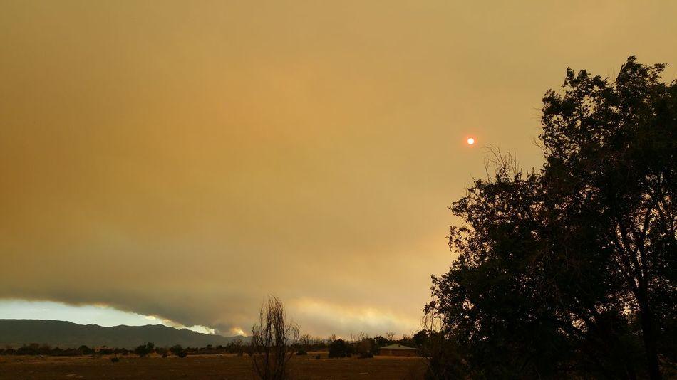 Smokey Mountains Wildfire Smoke Smoke From Fire Dark Sky Hard To Breath Colorado Wildfire  Orange Sky Red Sun Forest Fire Forest Fire Smoke Sad