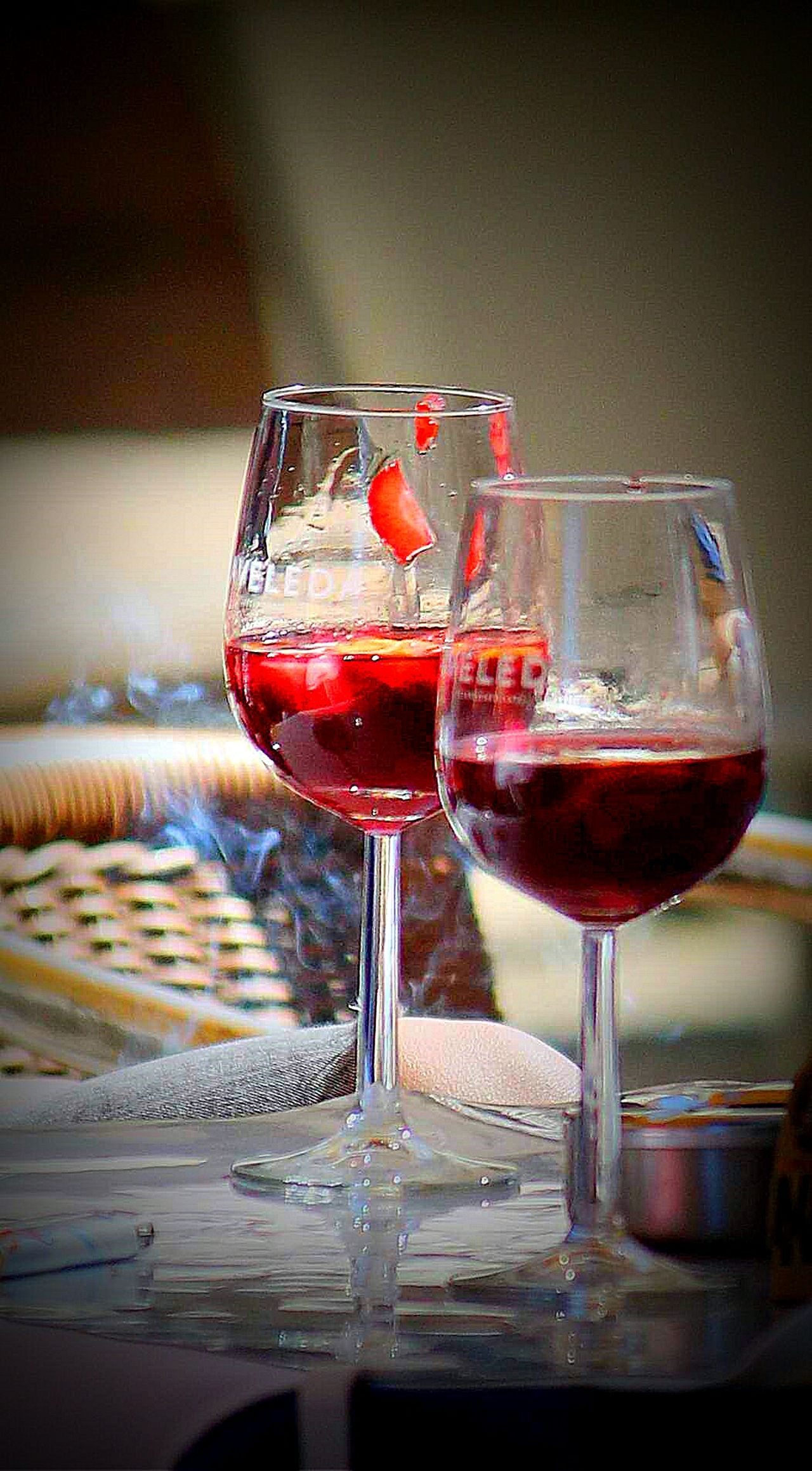 Wine Moments Red Wine Wineglass Wine Alcohol Close-up Drinking Glass Red No People Cocktail Indoors  Day Winetasting