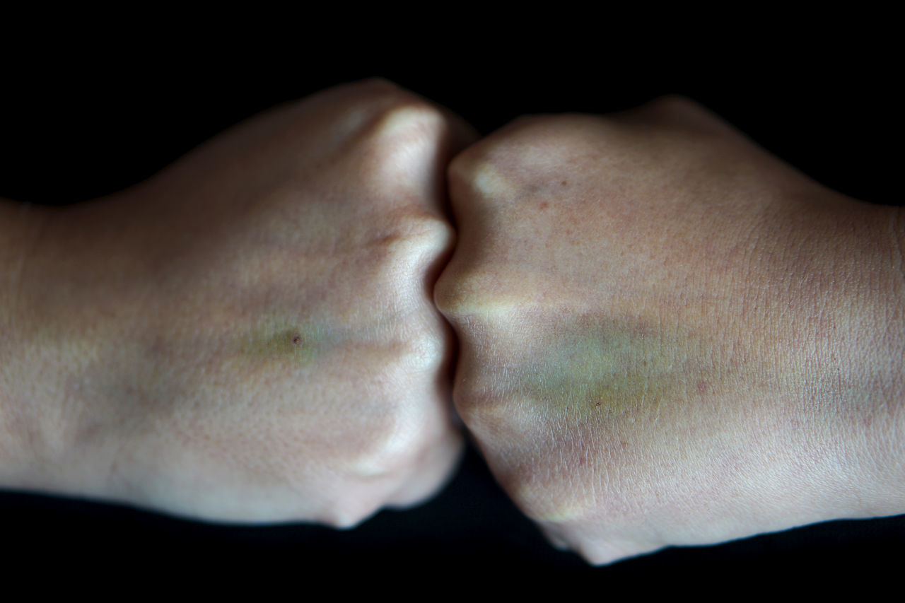 Fight Human Body Part Close-up Human Hand One Person Façade