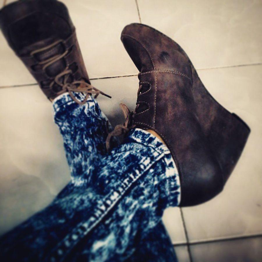Vscocam Vsconesia VSCO Boots highlights brown laziestsunday