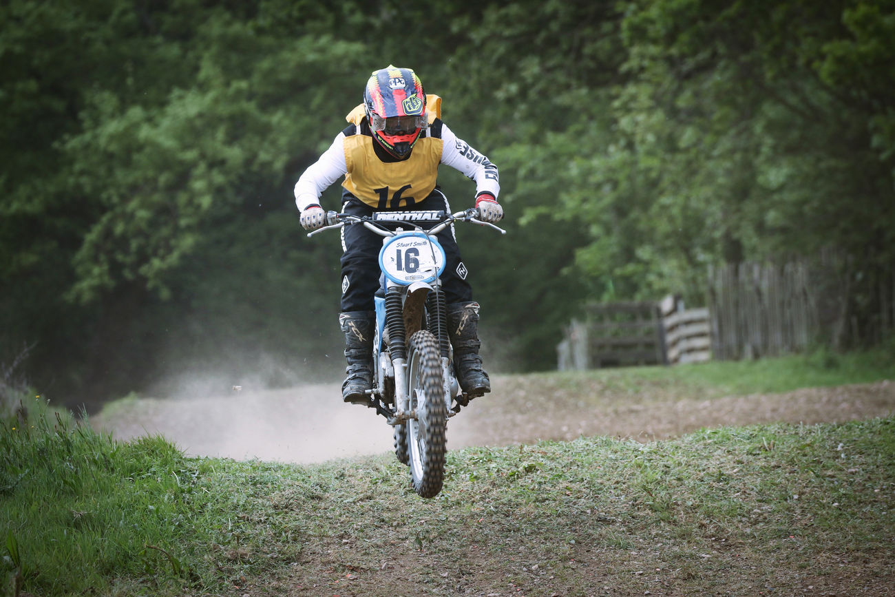 Motocross Rider Adult Adventure Day Extreme Sports Front View Full Length Headwear Helmet Leisure Activity Lifestyles Men Motocross Nature One Man Only One Person Outdoors People Real People Riding Sport Sports Clothing Sports Race Sportsman Transportation Young Adult