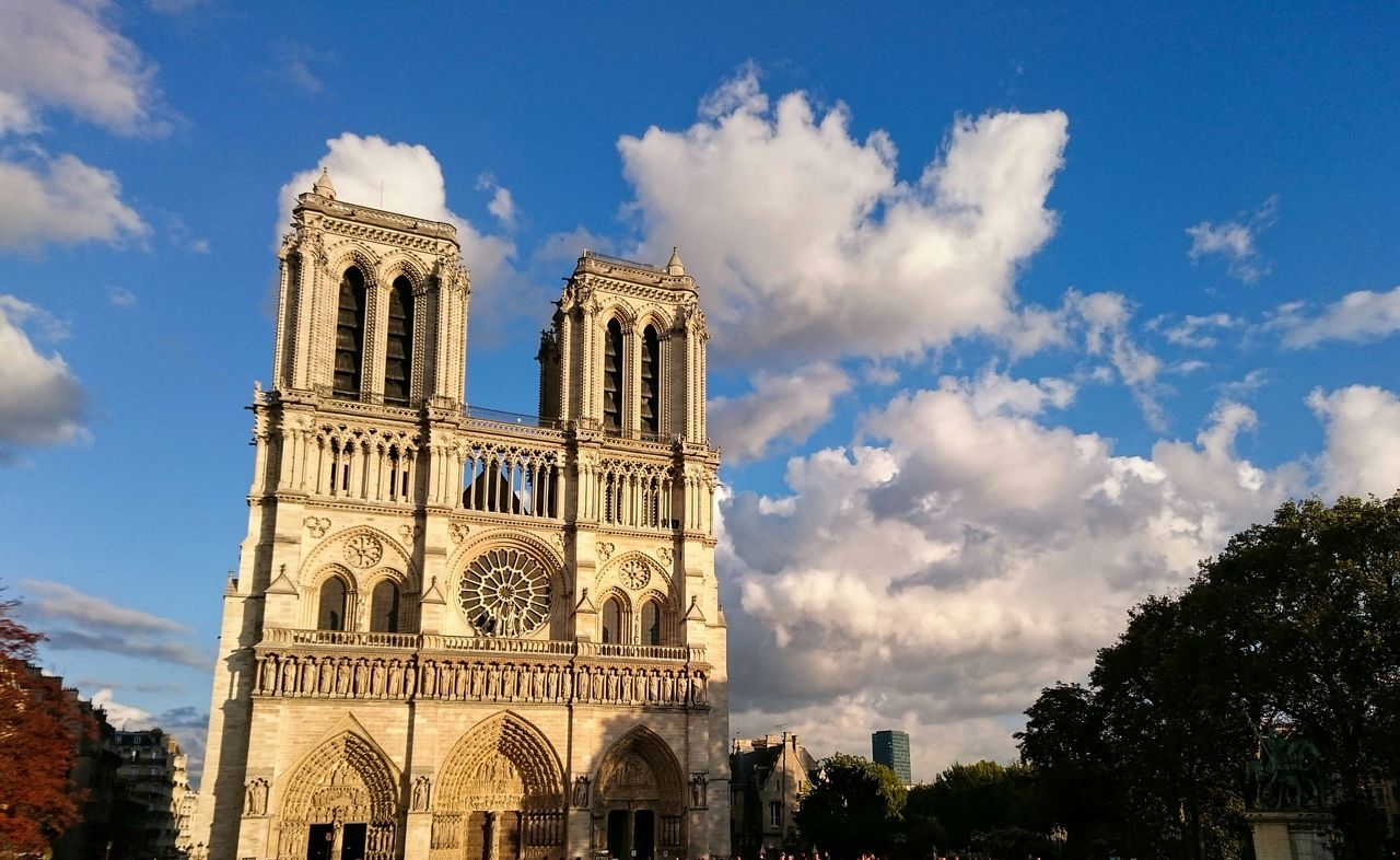 Beautiful stock photos of notre dame, Architecture, Building Exterior, Built Structure, Capital Cities