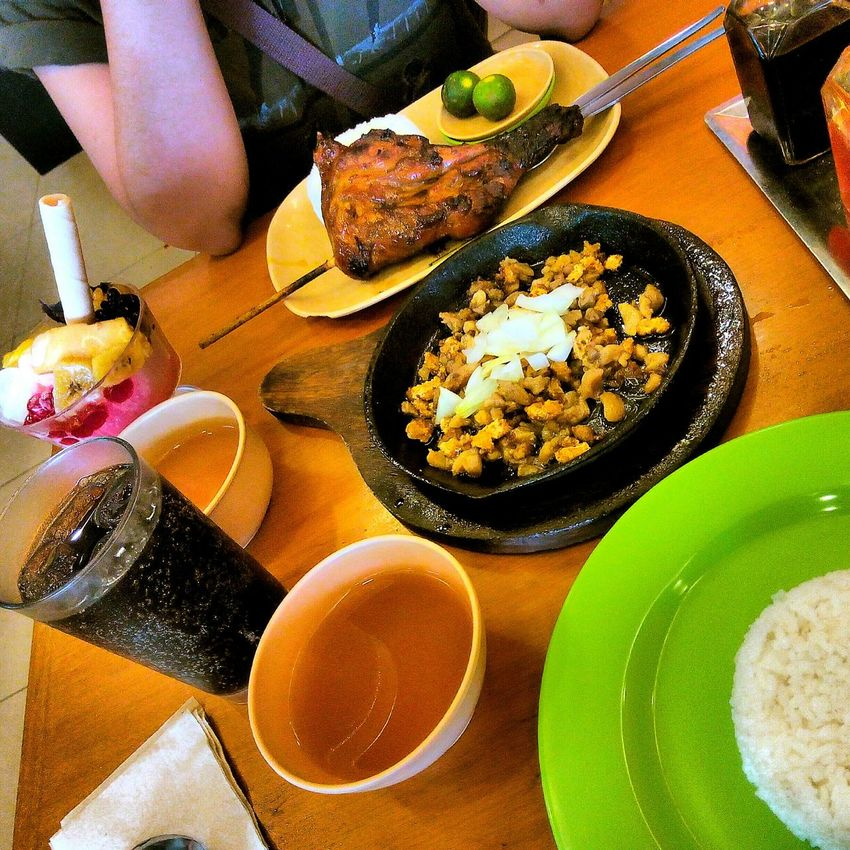 yumm! 🍴😄 Sisig Chicken Inasal Halohalo Sinigang Soup Filipino Food Eyeem Philippines Foodporn Brunch Around The World
