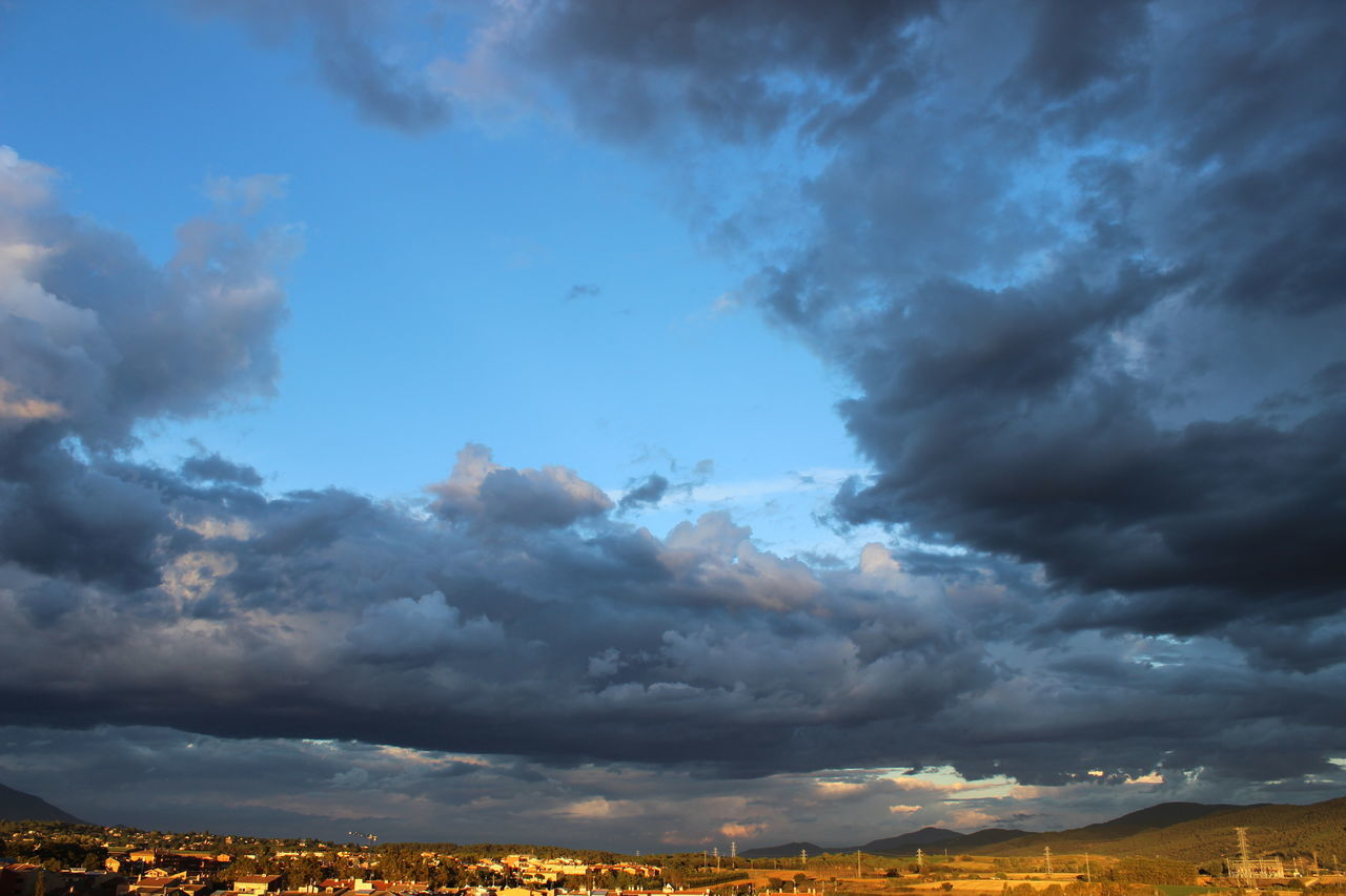 cloud - sky, sky, nature, scenics, beauty in nature, tranquility, no people, tranquil scene, outdoors, landscape, day, blue