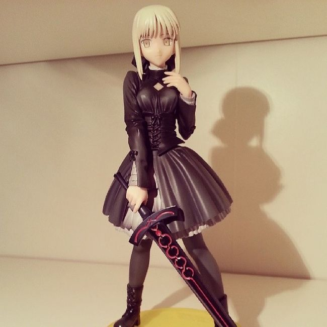 Saber Alter (Fate/Stay Night, Fate/Hollow Ataraxia) by ALTER SaberAlter FateStayNight FateHollowAtaraxia Saber figure anime manga ALTER