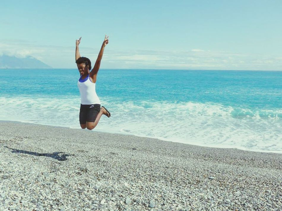The Places I've Been Today Pacific Ocean Taiwan Hualien, Taiwan Happiness ♡