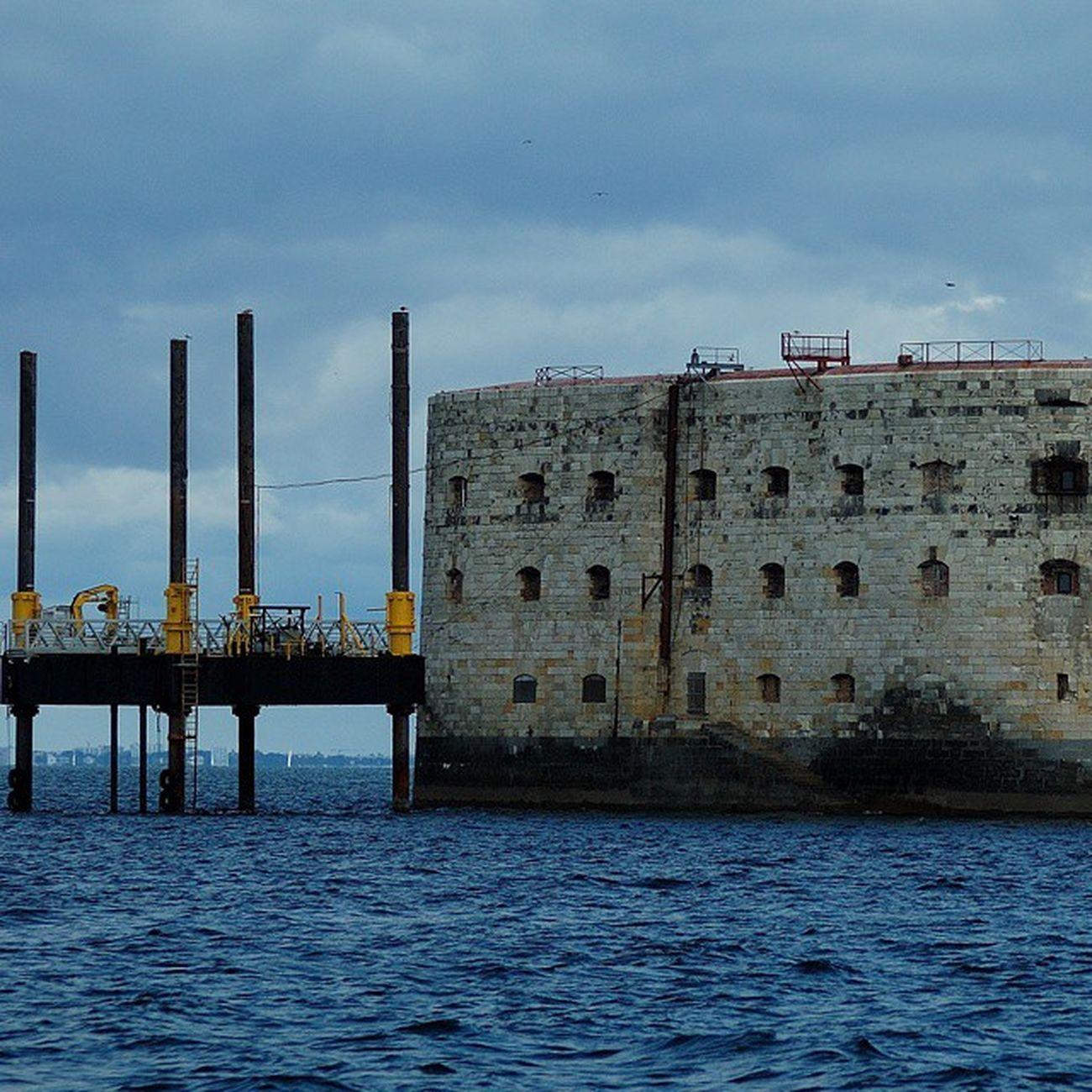 Architecture maritime Fortboyard Oleron Charantemaritime Mer