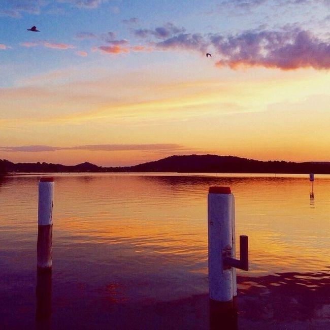 Beautiful sunset tonight.