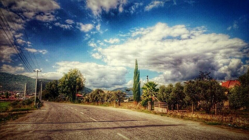 Mugla Turkey Güzelköylü Eskilerden Yol Road Benimgözümden Sony Xperia Z2