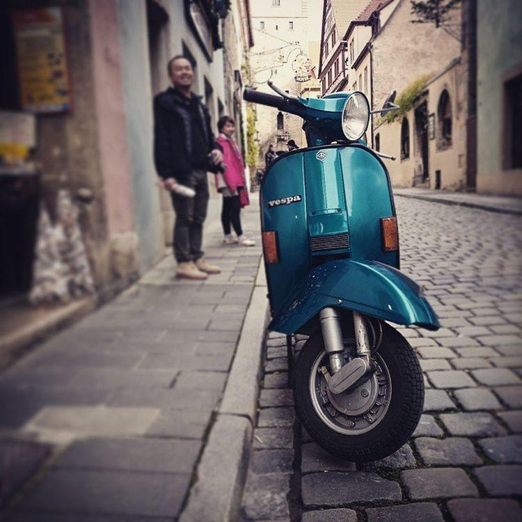 古城•舊巷•老味道~樣樣經典都在這 Rothenberg Germany Tour Vespa
