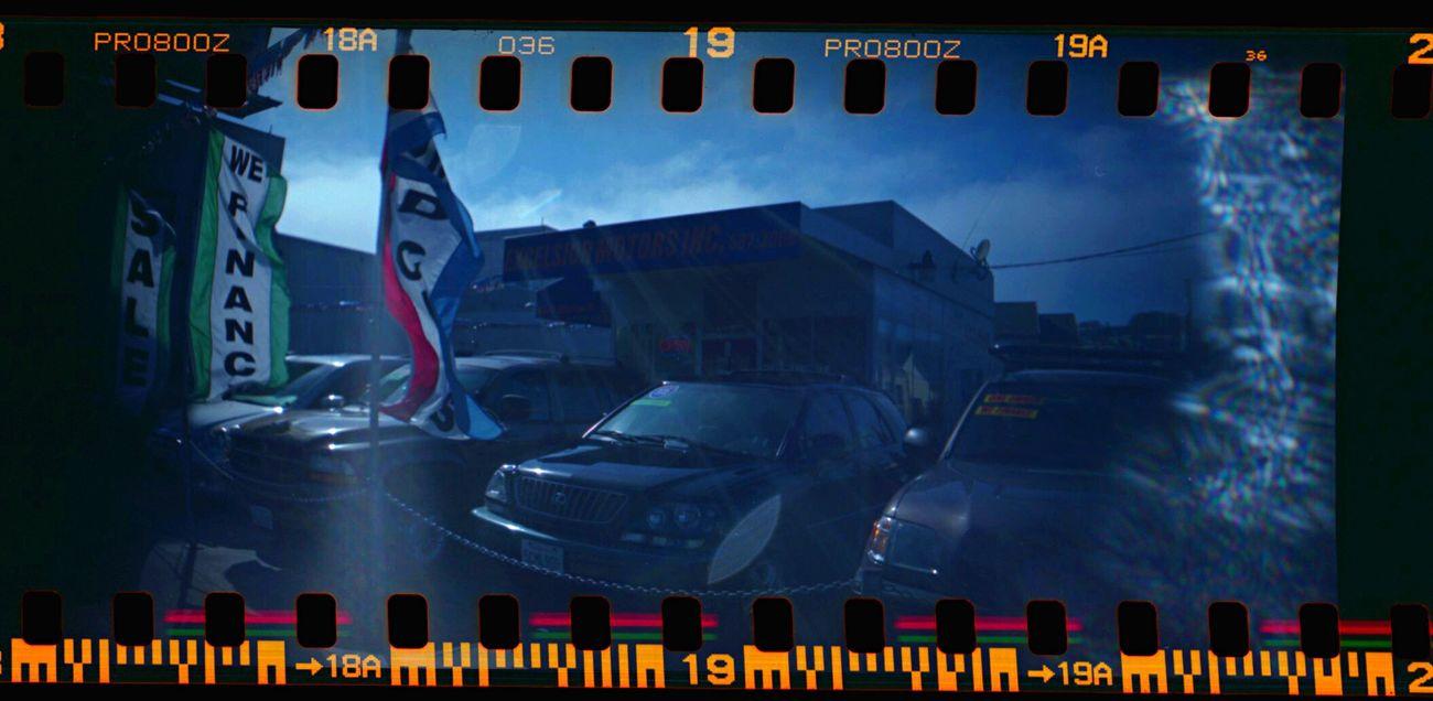 Text Lomo800 Koduckgirl Sprocket Holes Film Sprocket Rocket Panorama Car