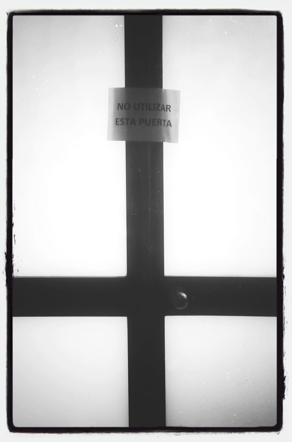 Cross Door No Exit