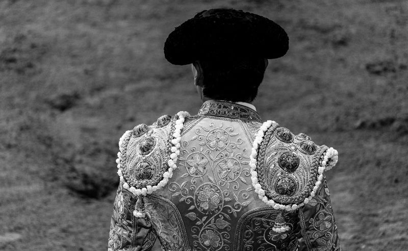 TAURINAS III (12) Hat Man Toreros Traditional Clothing Beautiful Dress  Close-up Day Detail Focus On Foreground Juan_fapraez One Person Outdoors People Real People Rear View Traditional