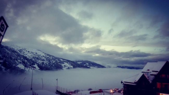 Skiing ❄ France Valmeinier Snow ❄
