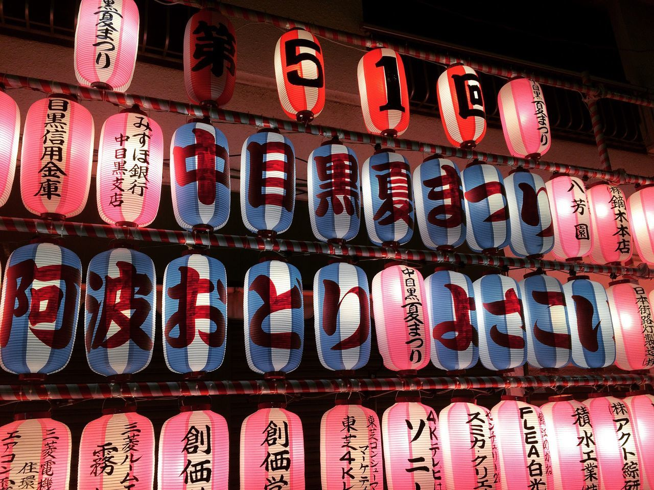 Summer festival Japan Tokyo Summer Festival Lantern Calligraphy Japanese  Tradition Heritage Hot Day