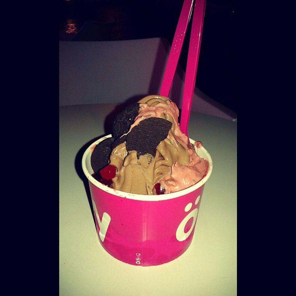 Una de Smoöy con mi nene ? YogurtDeChocolate SalsaPanteraRosa OreosYGelatina