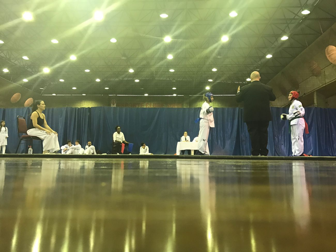 Round 1 Fight Taekwondo Tae Kwon Do Girl Fight