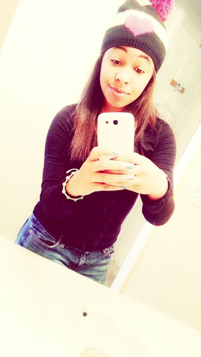 cause I liked this picture Jeans Cutie Abercrombie & Fitch  Beanie Mirror Picture Betsey Johnson Mixed Girl Beautiful Love