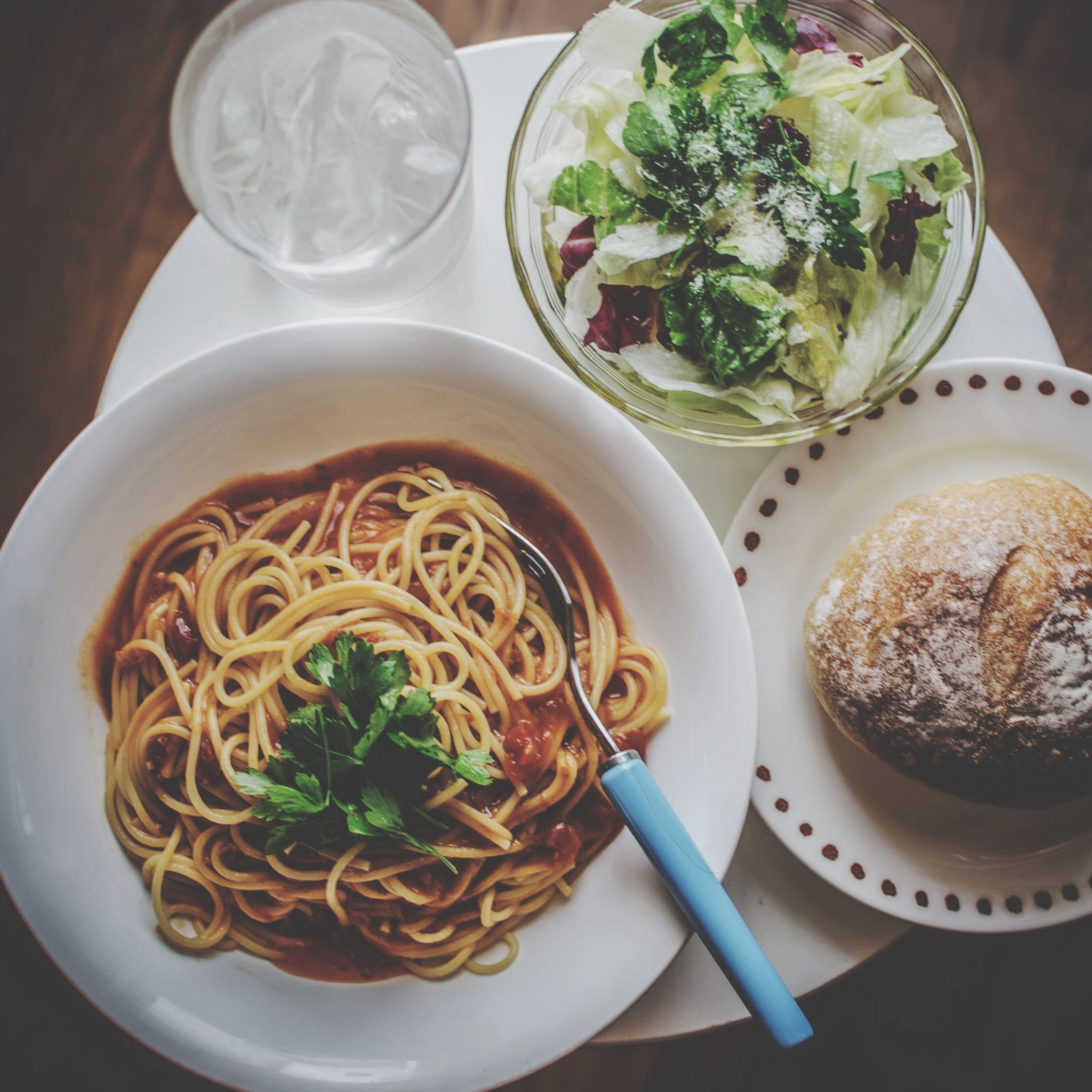 food and drink, food, indoors, freshness, ready-to-eat, plate, bowl, meal, healthy eating, table, serving size, still life, noodles, high angle view, close-up, soup, indulgence, spoon, served, directly above