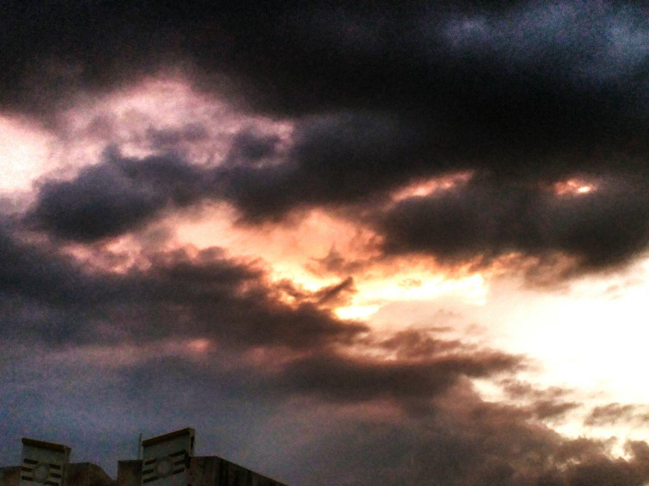 Clouds Sky Makingdrama Nature