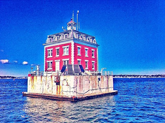 On the water... New London Connecticut New England  Harbour Harbor Lighthouse Lighthouse_lovers Lighthouse_captures Ledge Lighthouse Groton
