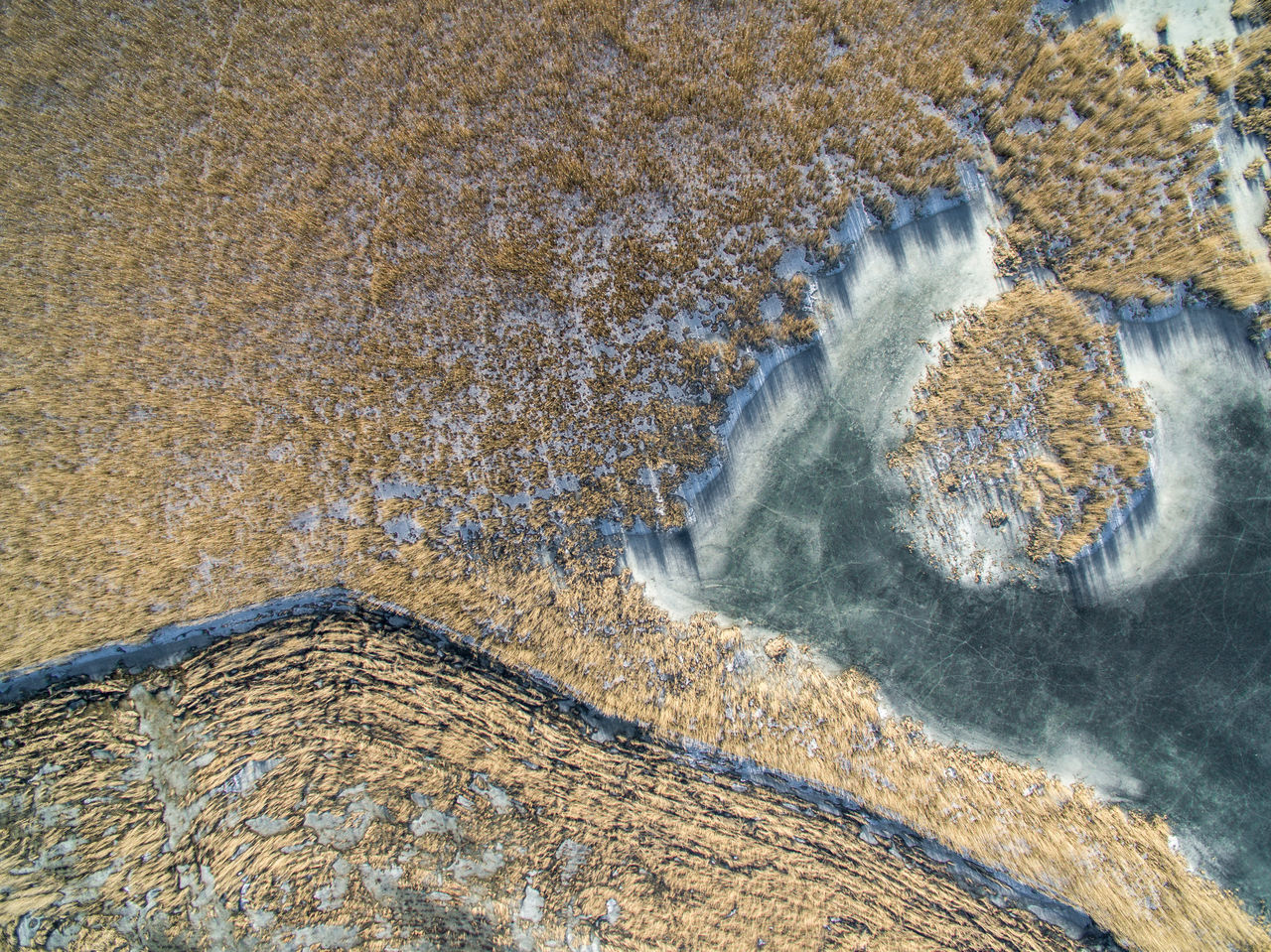 Aerial View Beach Beauty In Nature Day Drone  Finland Flying High Helsinki High Angle View Lake Lammassaari Mud Nature No People Outdoors Seaside Sky Top View Travel Water