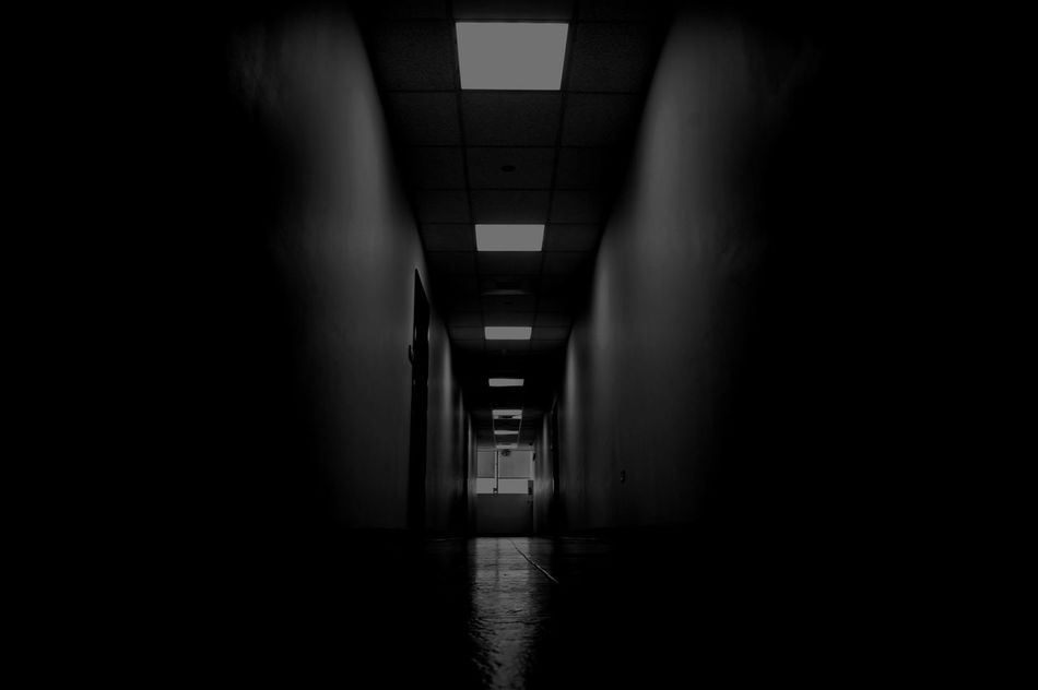 Blackandwhite Dark Darkroom Diminishing Perspective EyeEm Gallery From My Point Of View Interior The Way Forward There Is Always Light At The End Of The Tunnel.