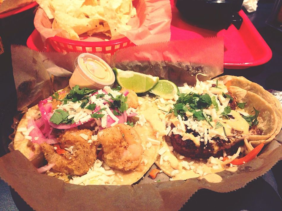 Baja and Mr. Pink Foodporn Food Torchystacos Late Night Snack