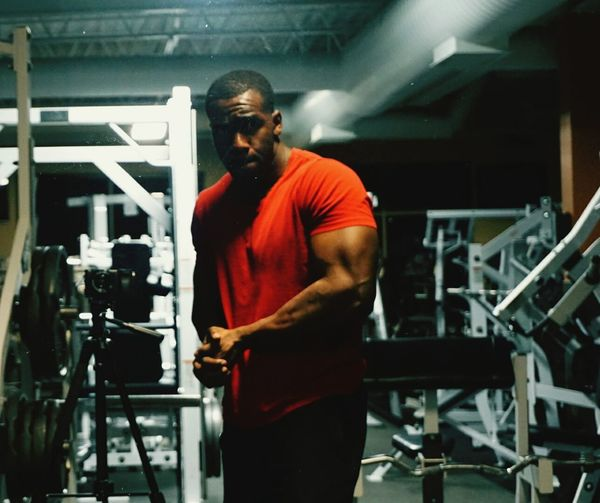 Arms Fitness Workout Gym Personaltrainer