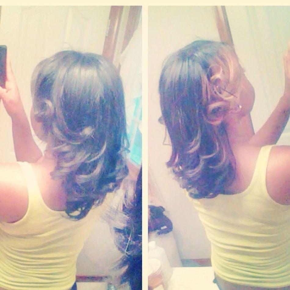 My hair. #Curls
