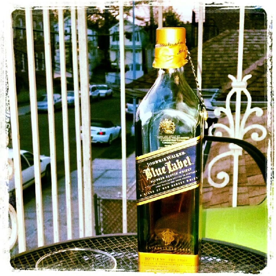 Relaxing Shades Of Blue Top Shelf What's Your Poison? Johnny Walker