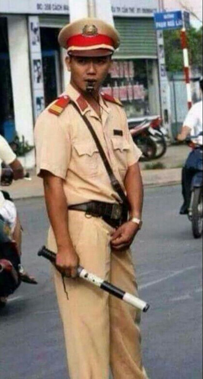 Dáng đứng Việt Nam😵 Police Policeman Traffic Police  Cảnh Sát Giao Thông Việt Nam CSGT