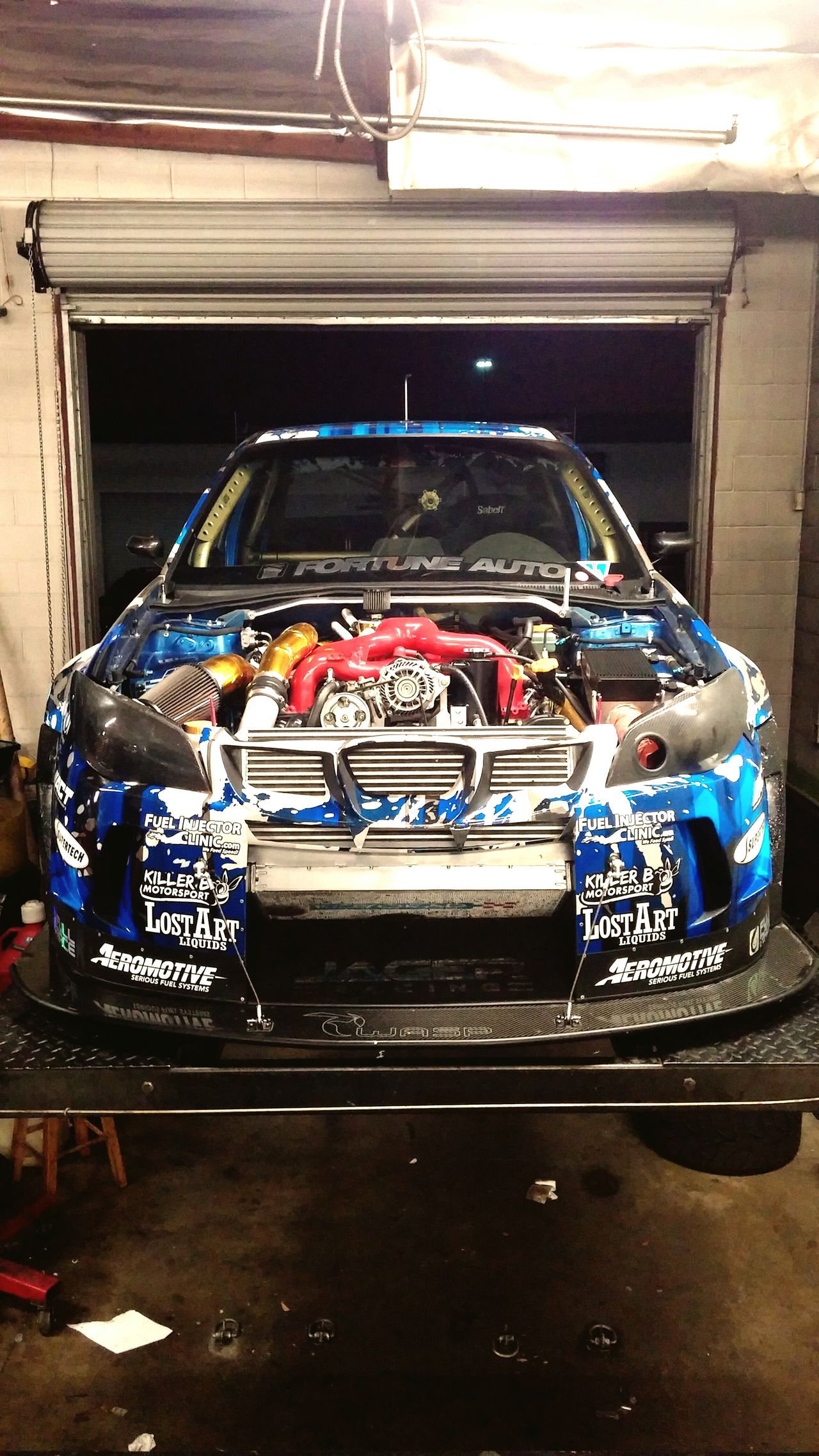 We are locked and loaded to attack some time tomorrow. Beginnerphotographer Subaru STI Automotive Photography Racecar Track Car Jagerracing