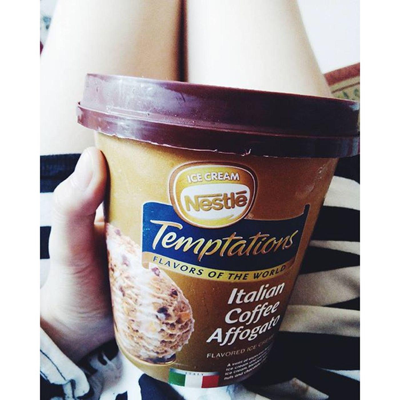 Temptation.🍦@nestletemptations Dessert Food Italiancoffeeaffogato Nestleicecreamph