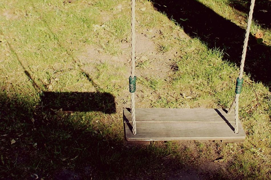 Swing In My Garden Vintage Hanging Out Color Photography Retro Taking Photos Sunny Day Waiting For You Let's Swing